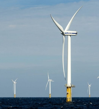 Shell and Eneco build large wind farm in the North Sea