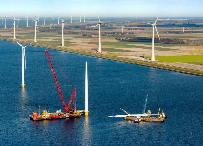 Wind farm Westermeerwind