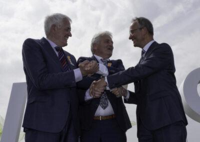 Minister Kamp opent Windpark Westermeerwind