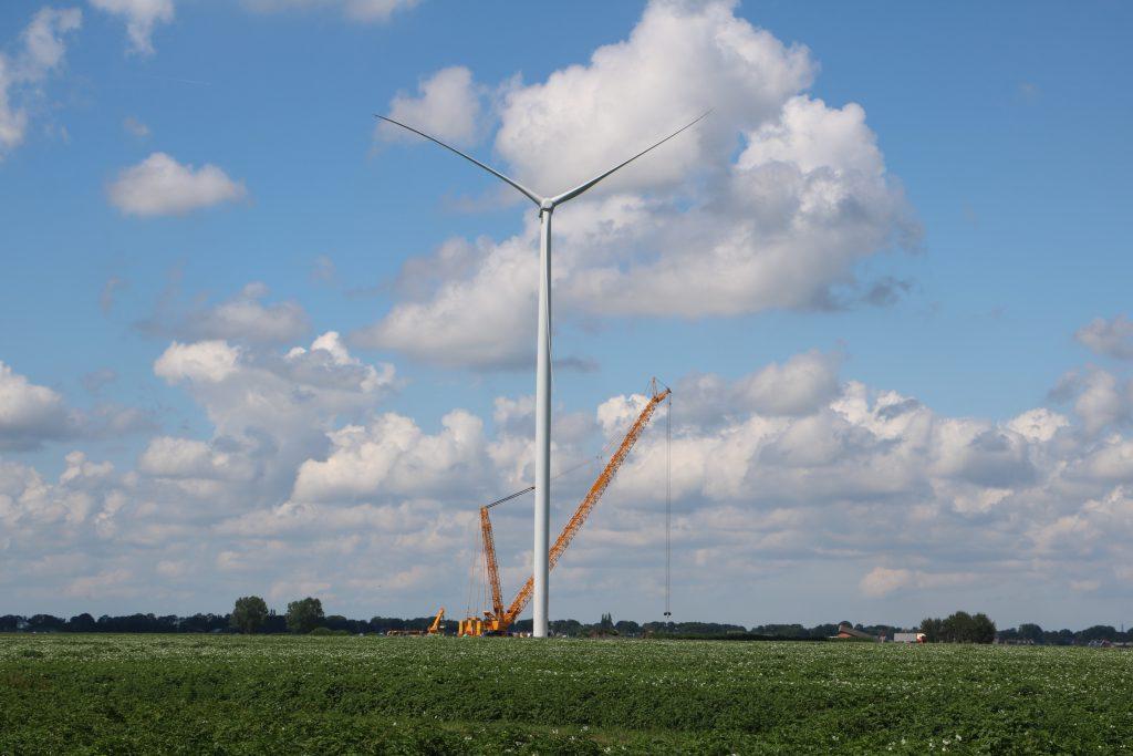 Wind farm De Drentse Monden en Oostermoer