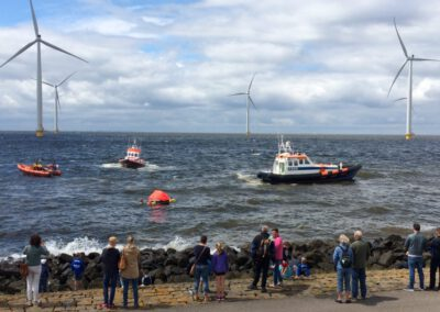 Drukbezochte Open Winddag Windpark Westermeerwind