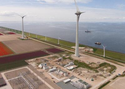 Windpark Noordoostpolder in Recharge januari: Amphibious & ambitious