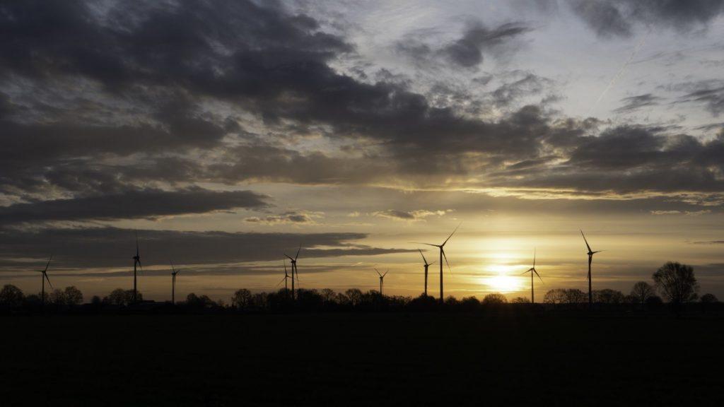Wind farm de Veenwieken