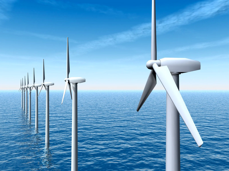 Offshore wind project near East Coast USA