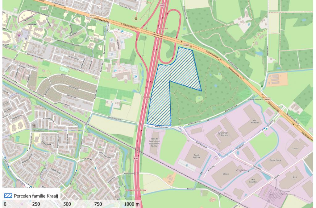 Zonnepark Woudhuizermark in Apeldoorn