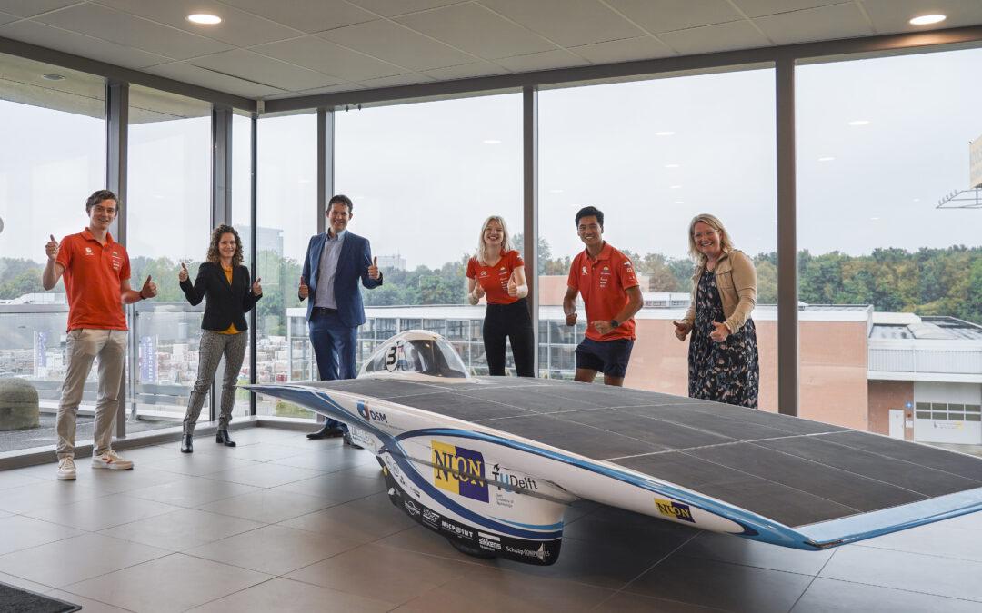 Ventolines is nieuwe sponsor van het Solar Team van de TU Delft studenten